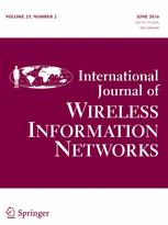 ARTIGO PUBLICADO NA INTERN. JOURNAL OF WIRELESS INFORMATION NETWORKS